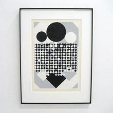 vancouver fine art sale VASARELY PRINT