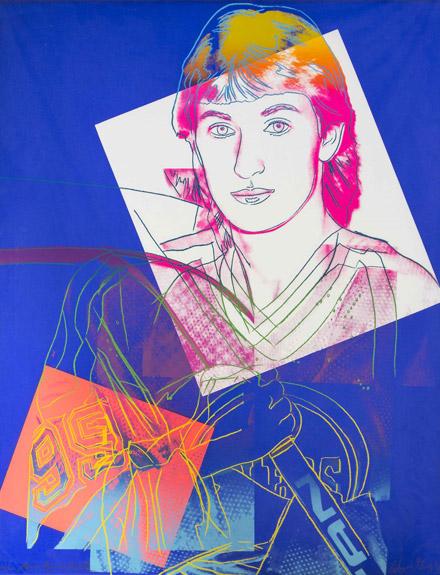 andy warhol wayne gretzky chernoff fine art