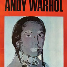 sale andy warhol american indian poster