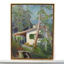 Fine art conservation framing - floater frame