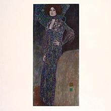 vancouver fine art sale GUSTAVE KLIMT emile floge print
