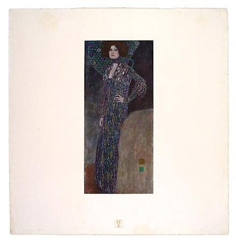 Gustave Klimt Emile Floge print
