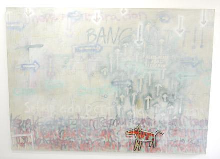 djunaidi kenyut pop art painting