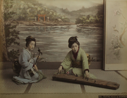 Koto and Shamisen